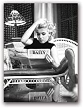 Wall Art Canvas Posters Marilyn Monroe Poster Painting Fashion Picture Prints for Living Room Home Decor