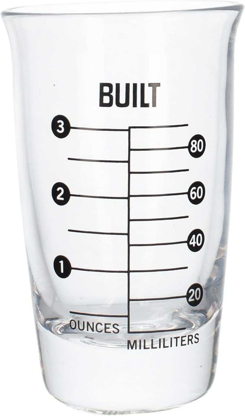 BUILT NY Curve 3-Ounce Cocktail Glass New life Measuring Albuquerque Mall