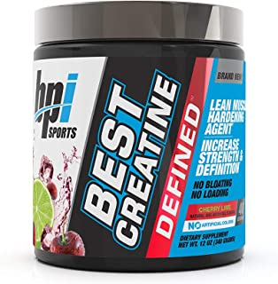 Bpi Sports, Best Creatine, Sabor Cereza-Lima, 40 servicios,300g.
