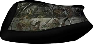 VPS Seat Cover Compatible With Yamaha Grizzly 700 Camo Top Black Sides Seat Cover