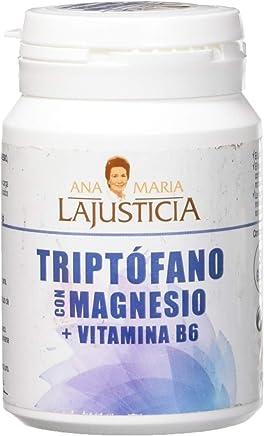 Ana Maria La Justicia, Triptófano con Magnesio y Vitamina B6, 60 Comprimidos, 51 g