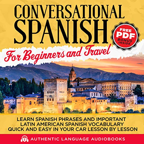 Conversational Spanish for Beginners and Travel audiobook cover art