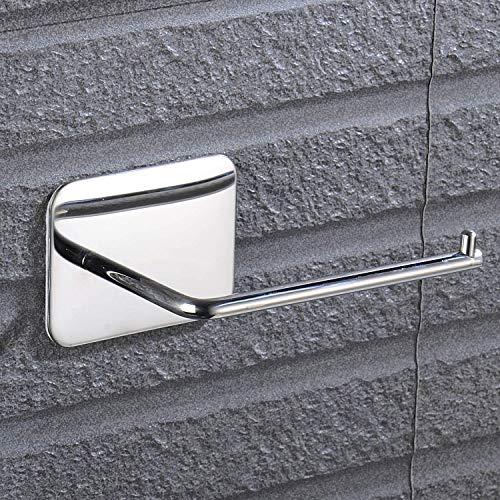 Toilettenpapierhalter aus Edelstahl Selbstklebend im Seidenpapierhalter für Badezimmer, einfache Installation ohne Schraube