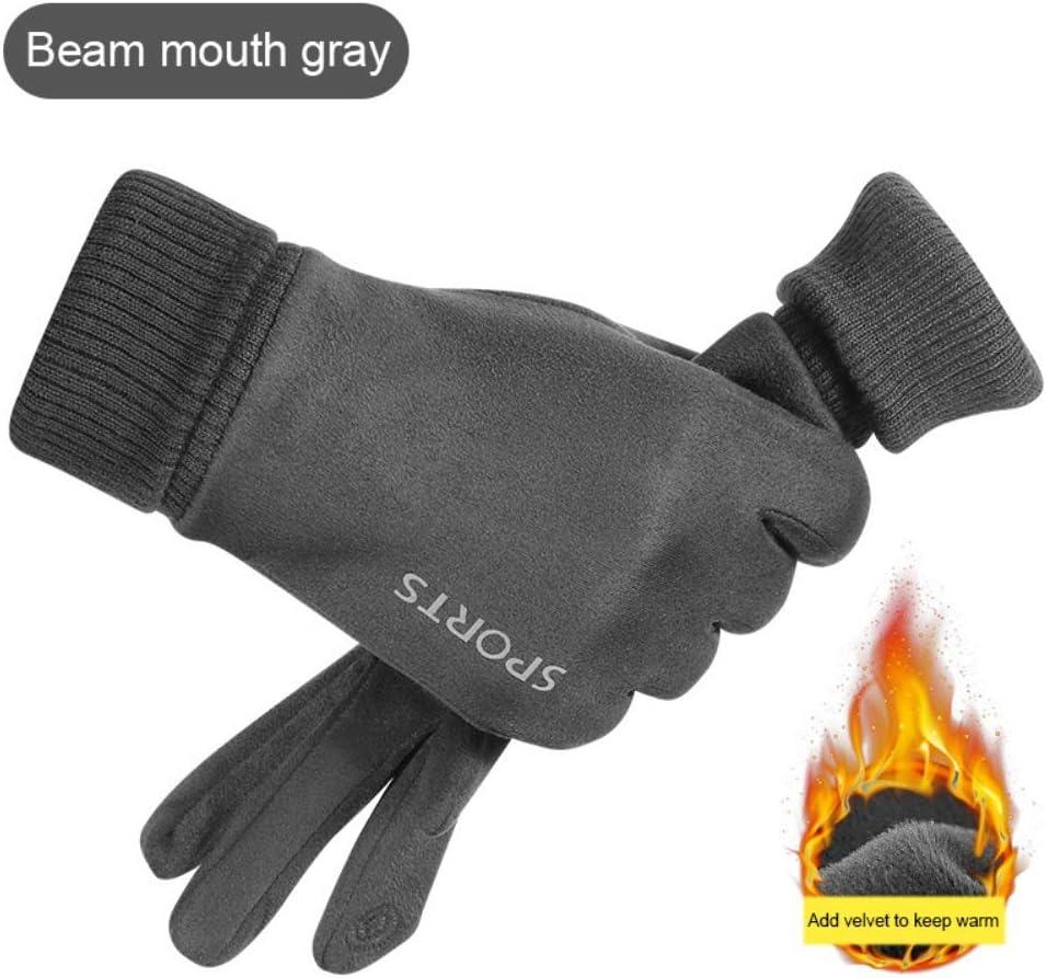 deportes al aire libre para oto/ño e invierno Guantes de invierno para montar en esqu/í cortavientos al aire libre guantes de motocicleta a prueba de fr/ío guantes de pantalla t/áctil