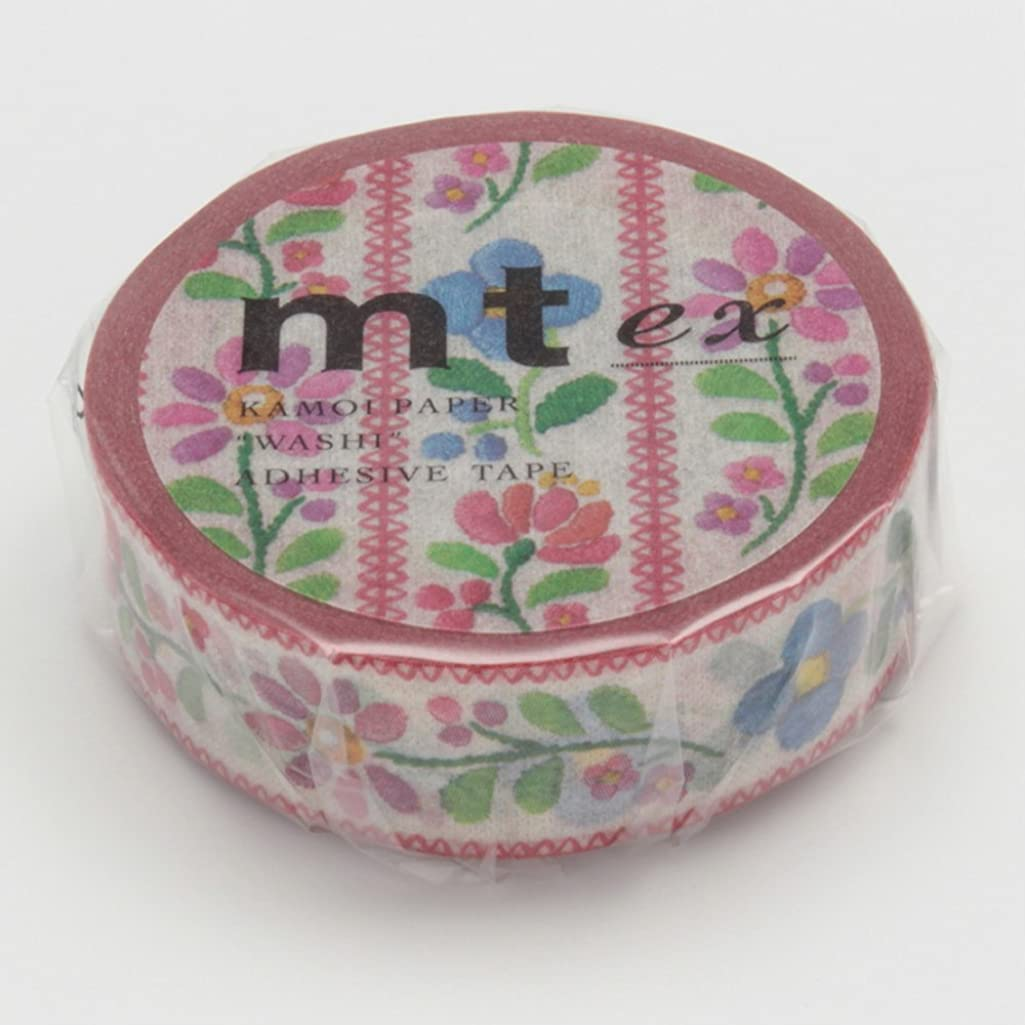 Mt Washi Masking Tape Ex Embroidery (MTEX1P68)