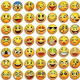 MORCART Emoji Magnete Kühlschrankmagnete Dekorative Küche Fridge Locker Magnettafel Eisen Büro Kleinkinder und Erwachsene Geschenk 54 Pcs