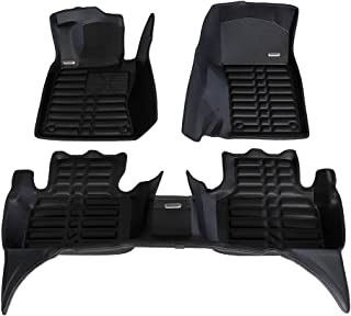 TuxMat Custom Car Floor Mats for Volvo XC60 2018-2020 Models/- Laser Measured Also Look Great in the Summer./The Best/Volvo XC60 Accessory. Full Set - Black Waterproof The Ultimate Winter Mats All Weather Largest Coverage
