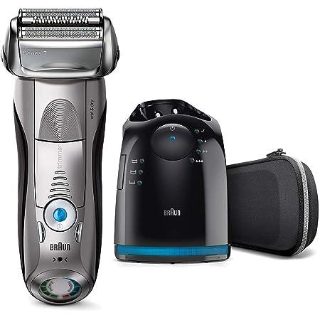 【洗浄器付き】ブラウン メンズ電気シェーバー シリーズ7 7898cc-P ブラック