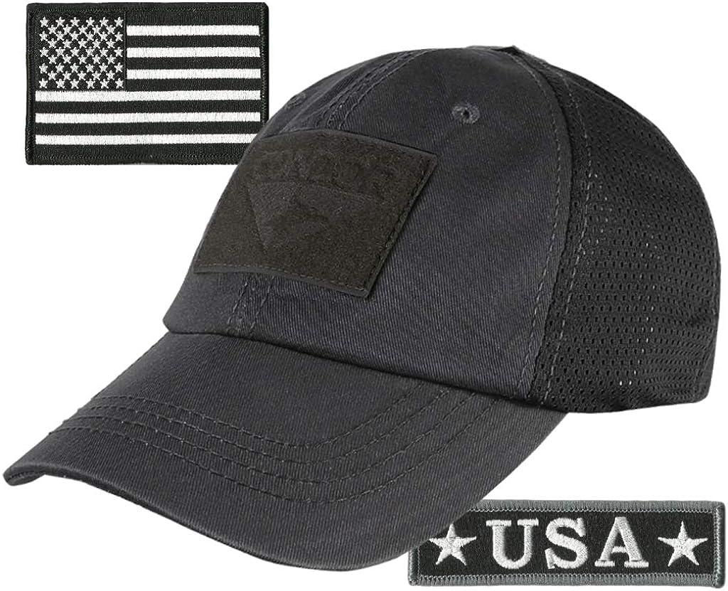 Nashville-Davidson Mall Award-winning store USA Bundle - Tactical Patches Cap Mes with Condor Operator
