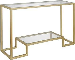 Henn&Hart Console Table 1 Gold