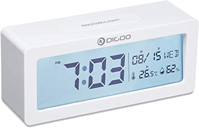 VISIONU Reloj Llavero Parlante en Español, Alarma LCD con ...