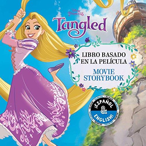 Disney Tangled: Movie Storybook / Libro Basado En La Película (English-Spanish), Volume 5 (Disney Bilingual)