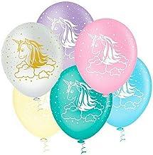 "Balão Látex Decorado Unicórnio 10"" Sortidos - 25un"