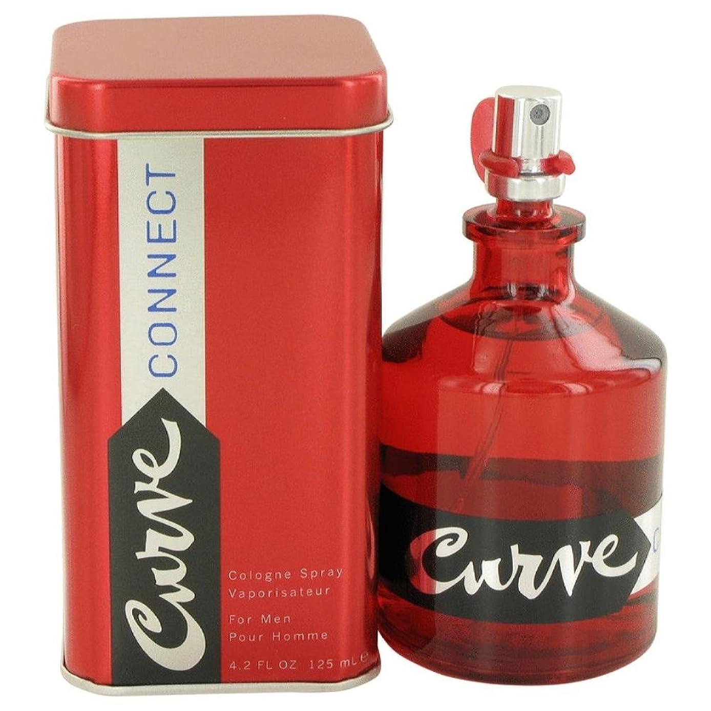 抵当パブおばさんLiz Claiborne Curve Connect for Men 125ml/4.2oz Eau De Cologne Spray Fragrance