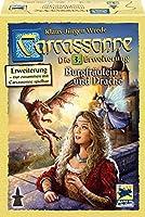 カルカソンヌ拡張セット3 王女とドラゴン (2016年版) (Carcassonne: Erweiterung 3. Burgfraulein und Drache) (2016 Edition) ボードゲーム [並行輸入品]