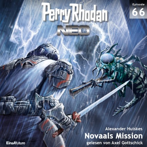 Novaals Mission audiobook cover art
