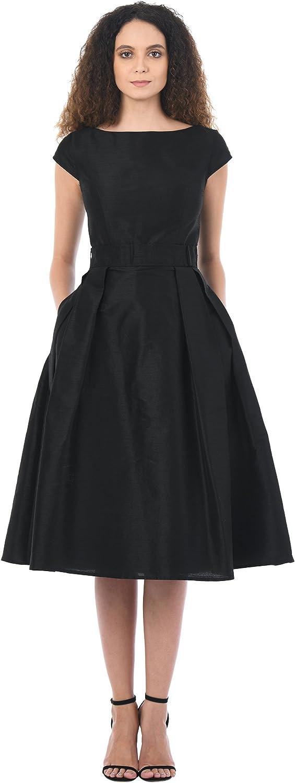eShakti FX Quincy Dress - Customizable Neckline, Sleeve & Length