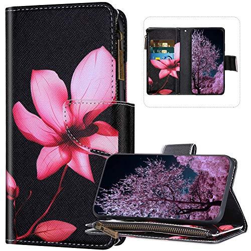 JAWSEU Funda para Galaxy Note 10 Lite/A81, Carcasa de Cuero PU Libro...