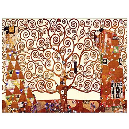 5D Kit pintura diamante taladro completo Austria Gustav Klimt Árbol de la vida DIY painting Crystal Diamond Rhinestone punto de cruz bordado art Craft para decor de la pared hogar 30x40cm H313