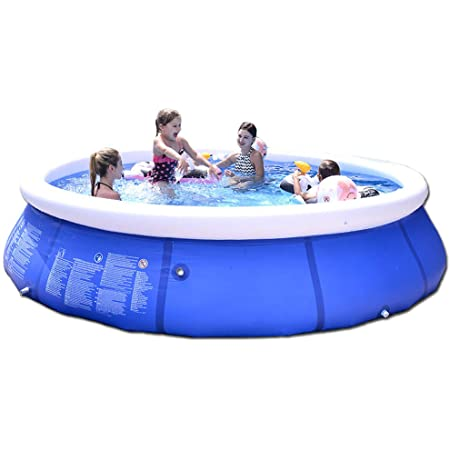 Couturebridal Inflatable Swimming Pool Above Groud Outdoor Backyard Garden Easy Set Blow Up Pools For Kids And Adluts 12ft X 30in Garden Outdoor