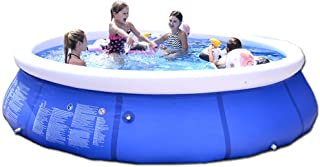ZFCGEE Inflatable Pool for Kids and Adults, Above Ground Swimming Pool Easy Set Blow Up Pools for Family, Backyard, Outdoo...