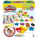 Hasbro Play-Doh - Modella e Impara Colori e Forme, B3404103