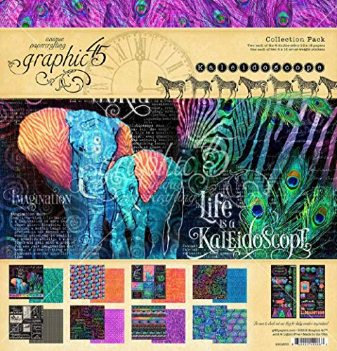 Fashion Forward GRAPHIC 45 4501970 FRWD Collect 12X12 Pack