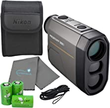 Nikon Prostaff Laser Rangefinder Bundle with 3 CR2...