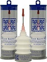 2-Pack Bundle of Roxanne Glue Baste It EZ Squeeze 1 oz.