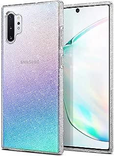 Spigen Funda para Galaxy Note 10 Plus/Note 10+ Liquid Crystal Glitter con Protección Delgada de Gel Silicona y claridad Premium de TPU - Crystal Quartz