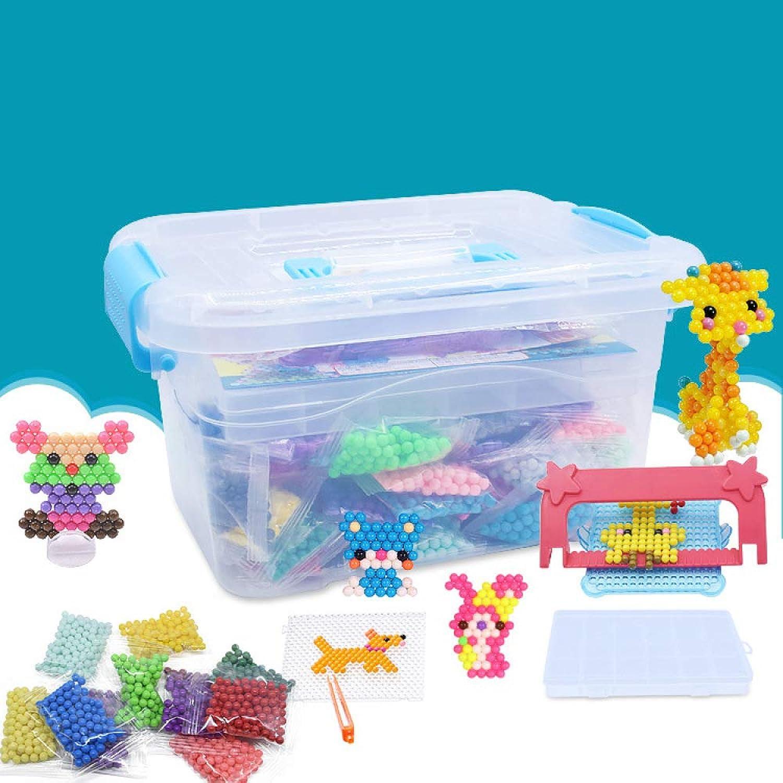 DYMAS Puzzle Spielzeug Neue Kinder Puzzle, klebrige Perle, die Square Barrel-kreative Handarbeit DIY-Nebel Farbtabelle Zauberbohne B07LBM2LHF Hohe Qualität und Wirtschaftlichkeit | Verschiedene