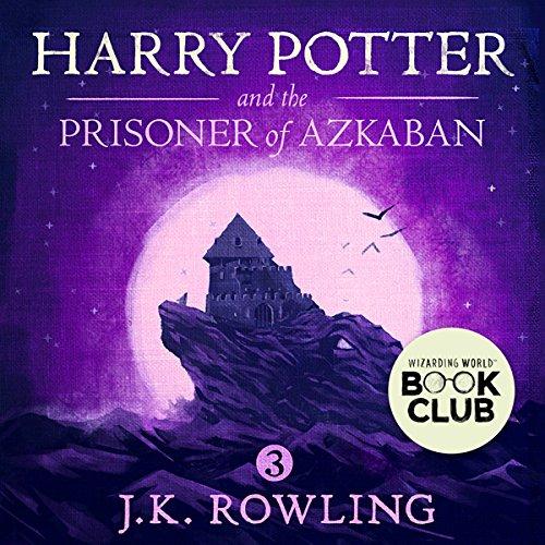 Harry Potter and the Prisoner of Azkaban, Book 3 cover art