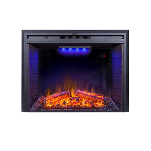 Admirable Electric Fireplace Inserts With Logs Amazon Com Home Remodeling Inspirations Cosmcuboardxyz