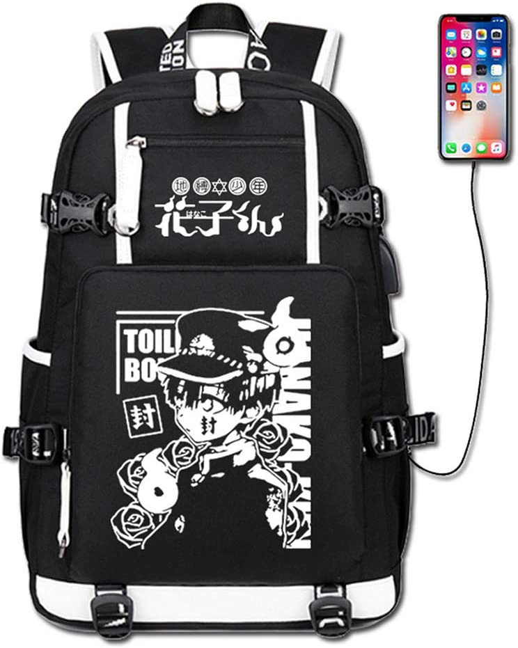 GO2COSY Anime Toilet Bound Hanako kun B Direct store Backpack low-pricing Student Daypack