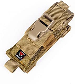 vAv YAKEDA Tactical Molle Single Pistol Mag Pouch 1000D Nylon Carry All Folding Knife Belt Sheath