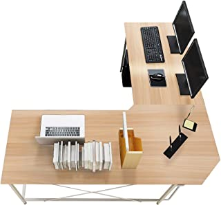 Soges 59 x 59 inches Large L-Shaped Desk Computer Desk Corner Desk Office Desk Computer..