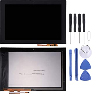 WXX LCD Screen and Digitizer Full Assembly for Lenovo YOGA Book YB1-X91L(Black) (Color : Black)