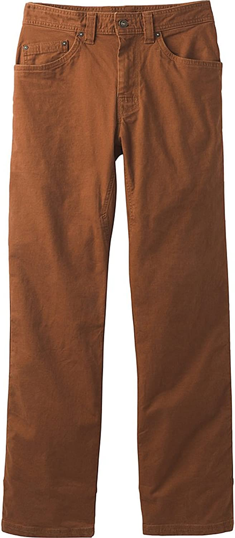 Prana Men's Bronson 30  Inseam Pants, Auburn, Size 35