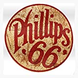 US210PT Sign USA Esso Vintage Phillips 66 Gas Station, for Home Decor Wall Art Print Poster