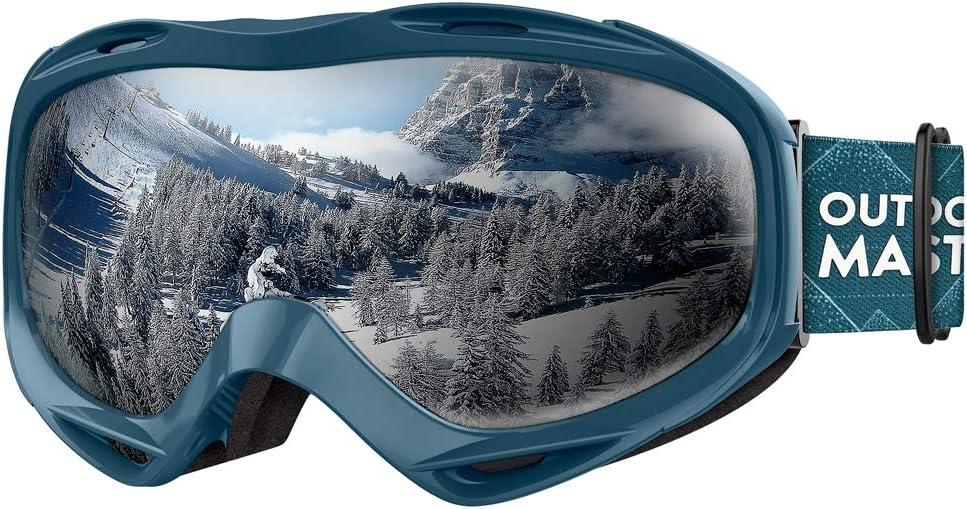 Max 69% OFF Sacramento Mall OutdoorMaster Ski Goggles OTG - Glasses Snowboard Over Goggl