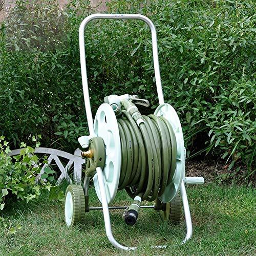 Carrito de agua para carrito de agua, manguera de jardín, riego, carrito de lavado de coche, camión, carrito de agua