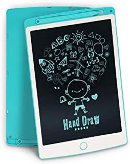 LCD Writing Tablet,Richgv 10 Inch Digital Electronic Graphics Tablet Ewriter with Memory Lock Mini Board Handwriting Pad Suitable for Kids and Adults for Home, School,Office Blue