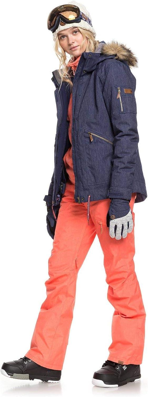 Mujer Pantalon Para Nieve Para Mujer Pantalones Para Nieve Mujer Roxy Nadia Ropa Brandknewmag Com
