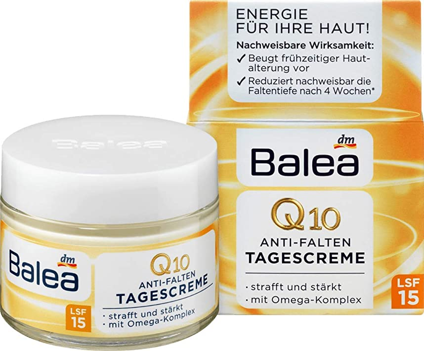 混乱させるクライストチャーチ自分の力ですべてをするBalea☆Q10 Cream Q10デーリークリーム50ml[並行輸入品]