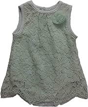 Kyle & Deena Infant Toddler Girls Mint Bodysuit Flapper Dress Floral Lace Single Outfit