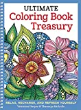 Ultimate Coloring Book Treasury: Relax, Recharge, and Refresh Yourself (Design Originals) 208 Pages of Beautiful One-Side-Only Designs on Extra-Thick, Perforated Paper in a Spiral Lay-Flat Binding