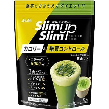 スリムアップスリム 酵素+スーパーフードシェイク 抹茶ラテ 315g アサヒグループ食品