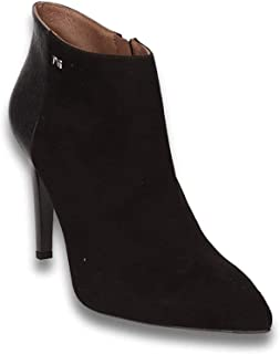 Donna Stivali Alti Stiletto Platform Boots Suede: Amazon.it