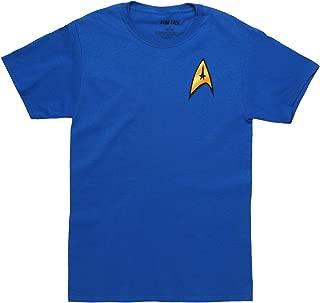 Star Trek Men's Command Starfleet Badge T-Shirt