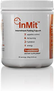 InMit|Nutritional Intermittent Fasting Support Drink That Provides Nourishment, Appetite Control, Boost Energy, Burns Fat ...